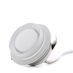 Mini Plafón LED Superficie Muebles 1W 100Lm 30.000H