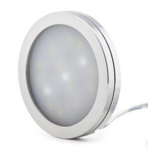Mini Plafón LED Superficie Muebles 3W 300Lm 30.000H Cable 2M