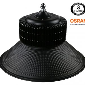 Campana Industrial LED PRO Black  200W chip OSRAM  SMD 3030 -2D