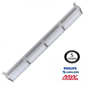 Campana Lineal LED 200W LUMILEDS 140Lm/W MEAN WELL