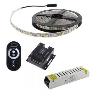 Tira LED regulable con controlador táctil 5 metros