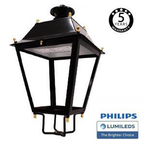 Farola Villa Aluminio LED 50W LUMILEDS 150Lm/W