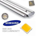 Bombilla LED GU10 regulable 6w en luz cálida, neutra o fría