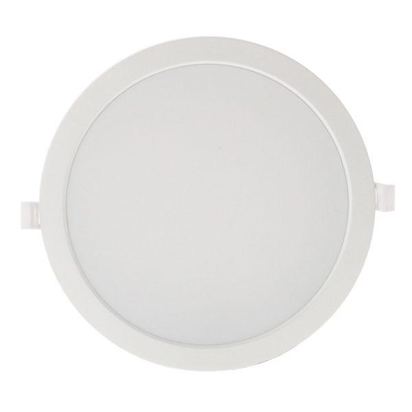 Downlight LED 32w redondo blanco en luz neutra, cálida o fría