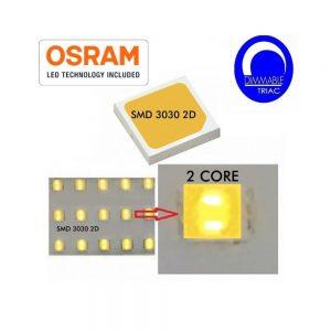 Campana LED industrial 100w OSRAM SMD 3030 en luz neutra o fría