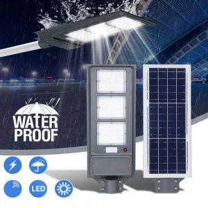 Farola solar con sensor de movimiento 60w Epistar