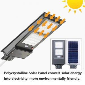Farola solar con sensor de movimiento 40w Epistar
