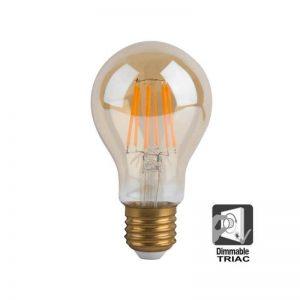 Bombilla LED filamento 8w E27 A60 luz cálida