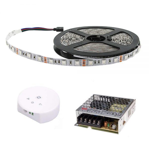 Tira LED Wifi RGB 5m IP65 SMD 5050