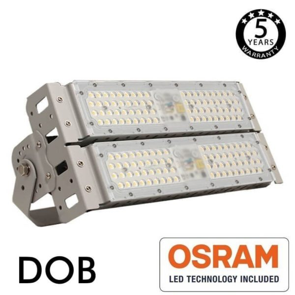 Foco LED Stadium 100w DOB Magnum Osram 140Lm/w 60º