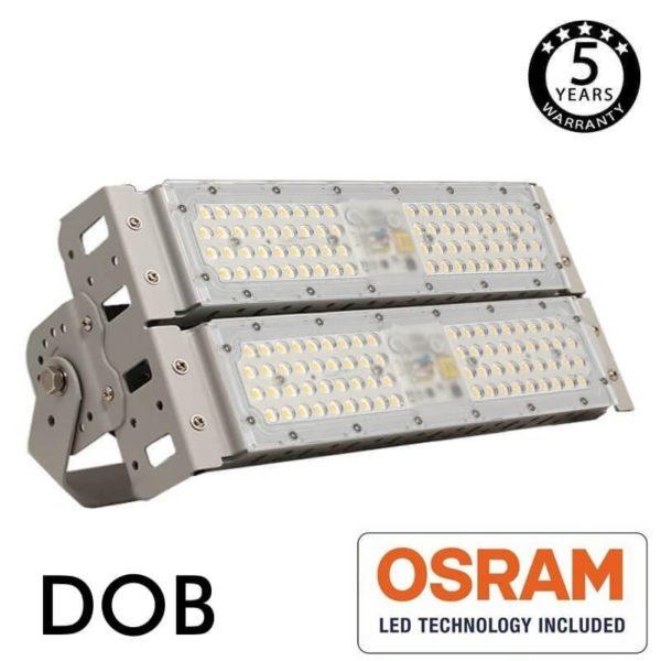 Foco LED Stadium 100w DOB Magnum Osram 140Lm/w 90º