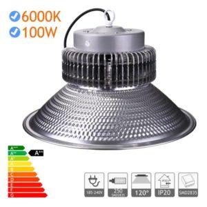 campana led industrial 100w