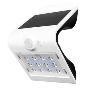 Aplique LED Solar Fly 1.5W con Sensor Movimiento