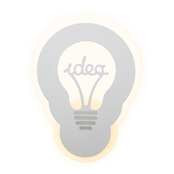 Aplique LED con forma de bombilla 22w