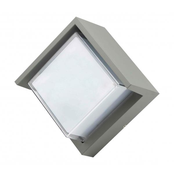 Aplique LED Cinza 12W exterior IP54
