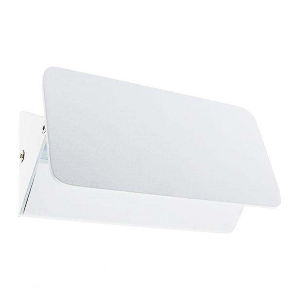Aplique LED Vas moderno blanco de luz orientable 5w