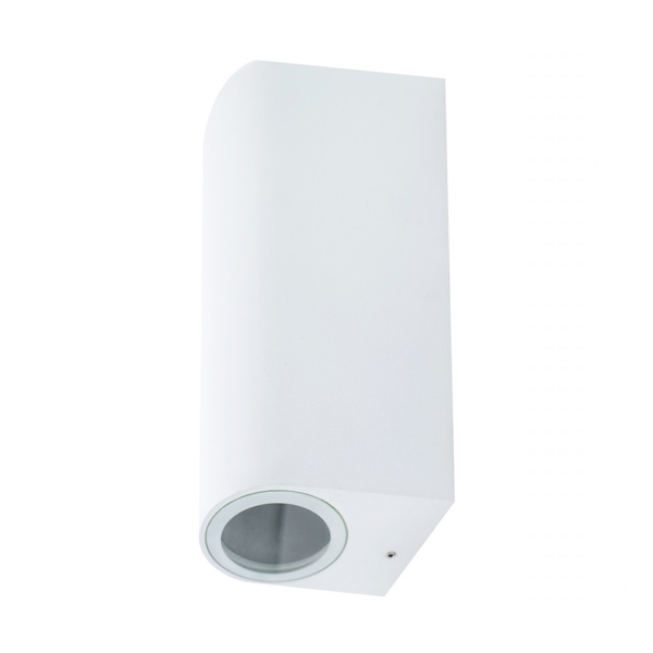 Aplique Middle Tube blanco 2 x GU10 IP54