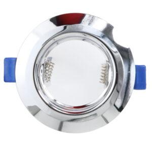 Aro basculante redondo Cromo para GU10/MR16