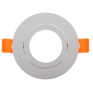 Aro basculante redondo blanco Serie Luxury para GU10/MR16