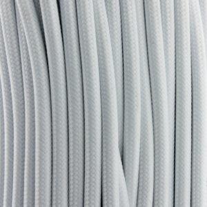 Cable textil eléctrico blanco 25 metros
