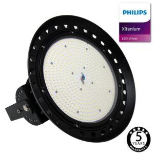 Campana LED 200W XITANIUM Driver Philips UFO IP65