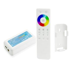 Controlador LED táctil RGB+W+WW con mando