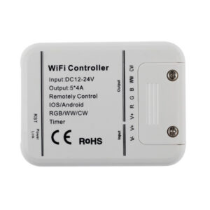 Controlador Wifi RGB+WW+W - App Magic Home