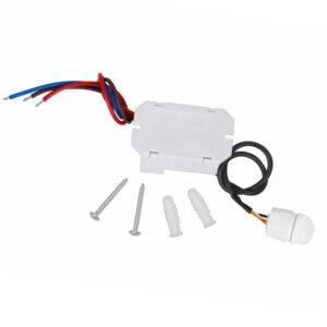 Detector de Presencia Mini PIR 360º Empotrable