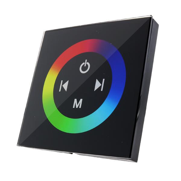Dimmer empotrable Táctil RGB Para Tiras LED 12/24V