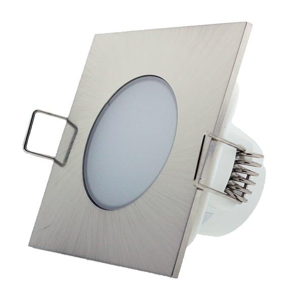 Downlight LED CobCarbon Square 5W IP54