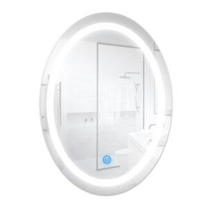 Espejo para baño con LED integrado 15W ovalado
