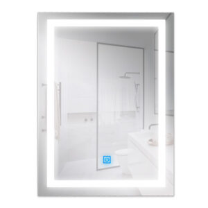 Espejo para baño con LED integrado 15W rectangular