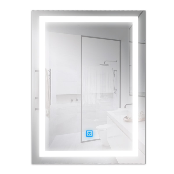 Espejo para baño con LED integrado 15W rectangular