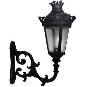Farola QUEEN para Lámpara LED E27 con Brazo - Aluminio
