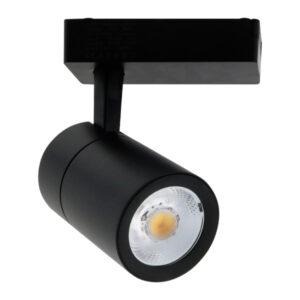 Foco LED para carril Clean Negro 30W Monofásico