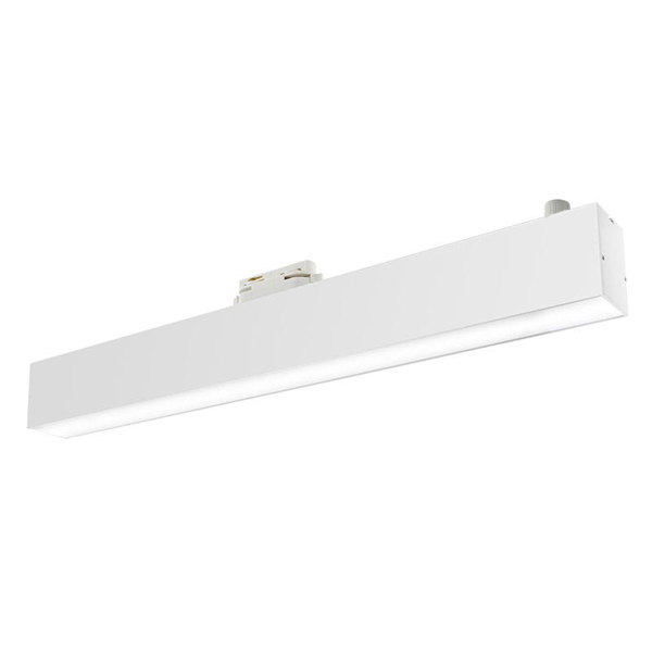 Foco LED para carril Lineal Track Blanco 12W Trifásico CCT