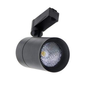Foco LED para carril Luxtar Negro 30W UGR < 17
