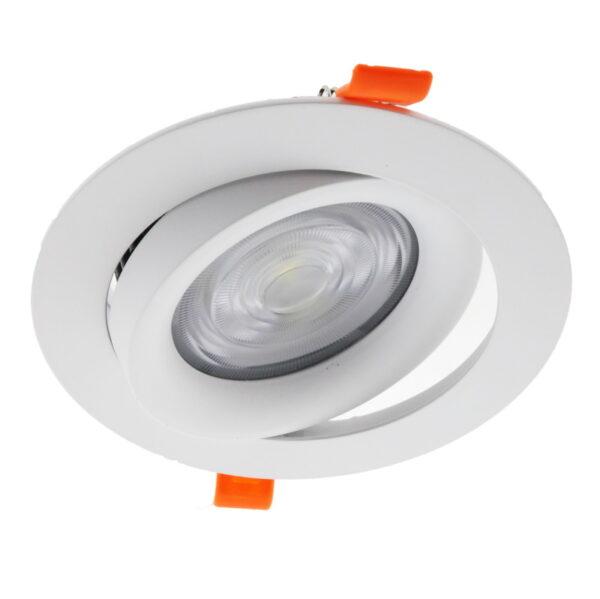 Foco LED empotrado orientable 20w COB en luz cálida, neutra o fría