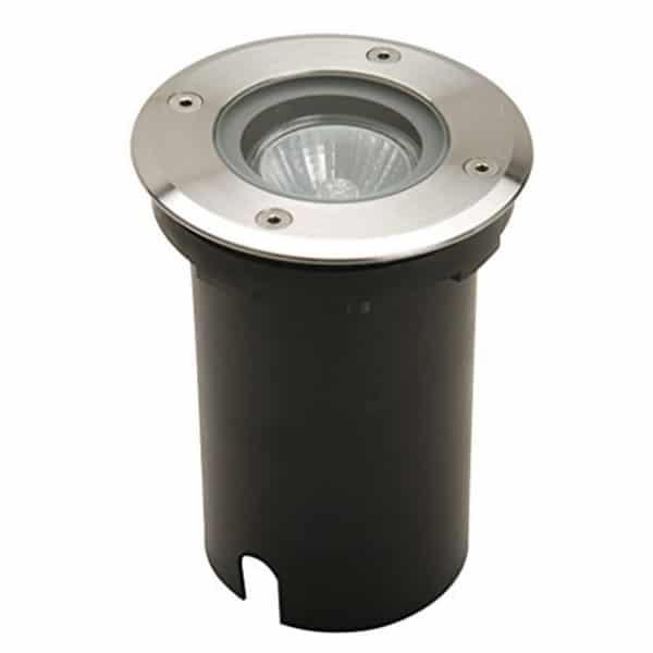 Foco empotrable para suelo IP67 Circular-con-casquillo-GU10