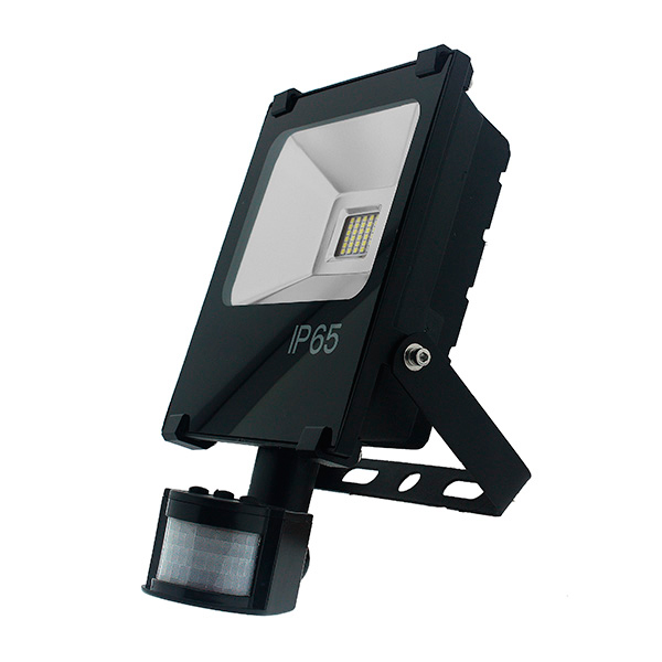 Foco proyector LED SMD Pro con detector 30W