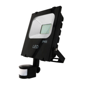 Foco proyector LED SMD Pro con detector 50W