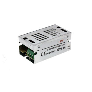 Fuente de alimentación para tiras LED 15W 12VDC