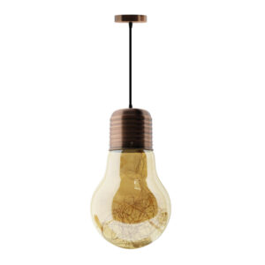 Lámpara LED con forma de bombilla Bulb Copper