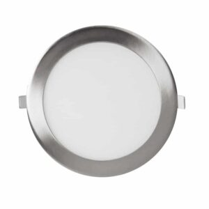 Panel LED Circular Niquel 18W