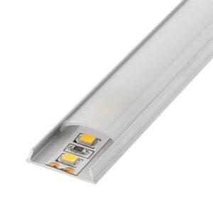 Perfil flexible para tiras LED 12/24v de aluminio 2m