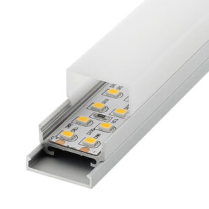 Perfil de aluminio Especial 12/24/220V 2 metro - Opcional Colgante