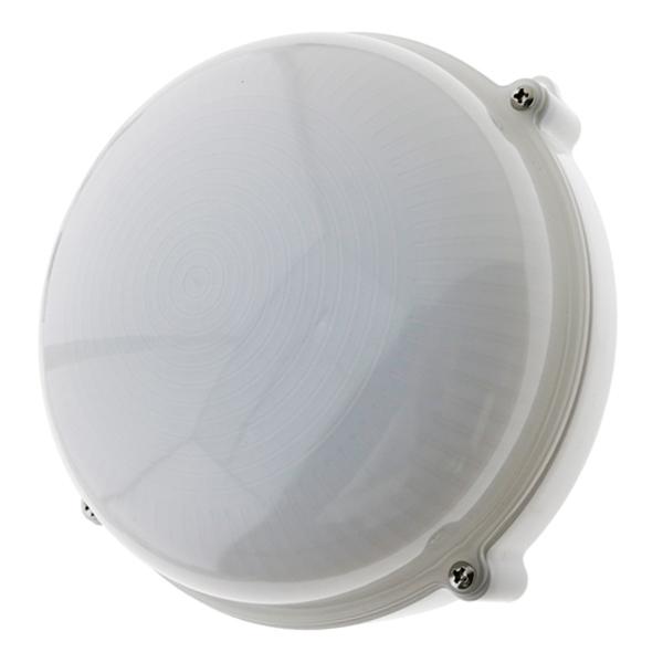 Aplique circular exterior blanco 12w IP65