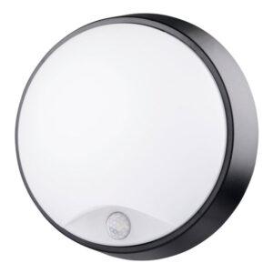 Plafón LED Luxtar Black con Sensor Pir 14W IP54
