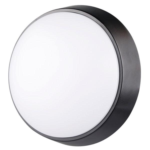 Plafón LED Luxtar Circular Black 14W IP54