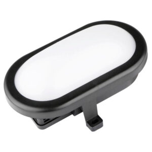 Plafón LED Luxtar Oval Black 10W IP54